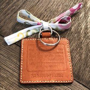 OOAK Coach Creed Hangtag Key Chain Handmade